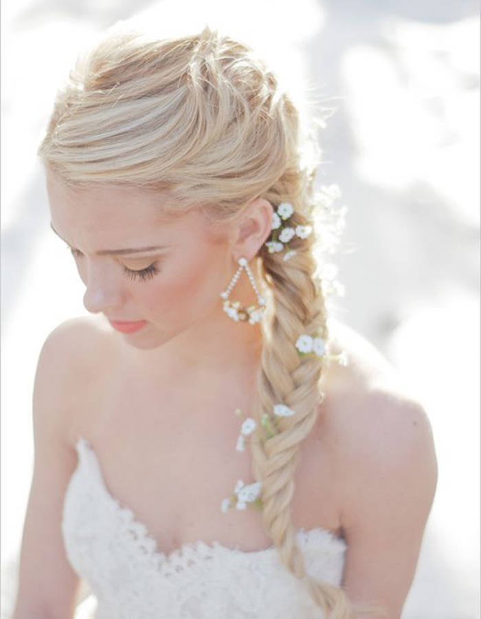 Super Photos de tresse de mariage – Mes Cheveux DS58