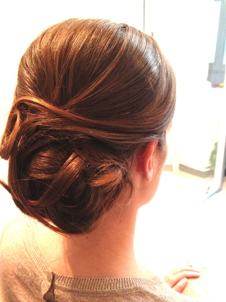 Photos De Chignon Bas Mes Cheveux