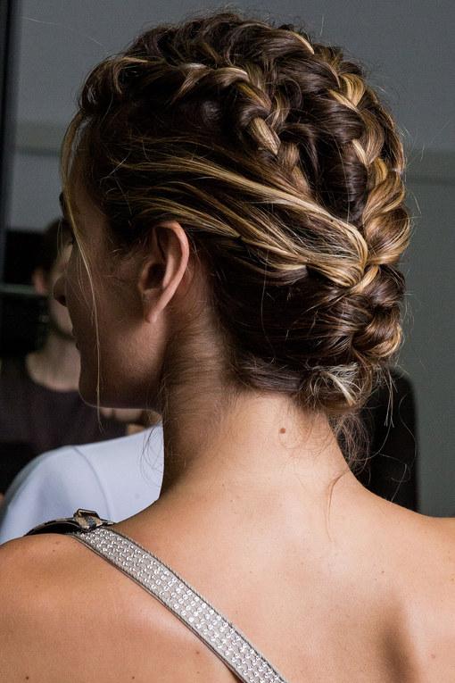 Photos De Tresse Avec Raies En Chignon Mes Cheveux