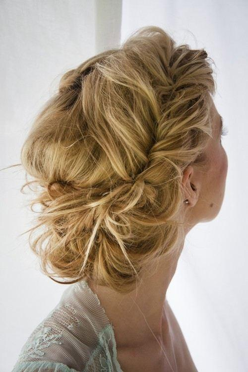 Photos De Tresse Chignon Mes Cheveux