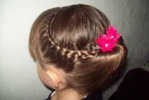 Photos de tresse façon chignon banane - Mes Cheveux