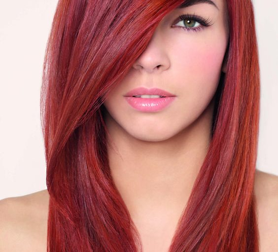 Cheveux rouge
