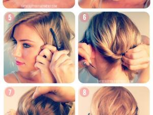 Coiffure cheveux court