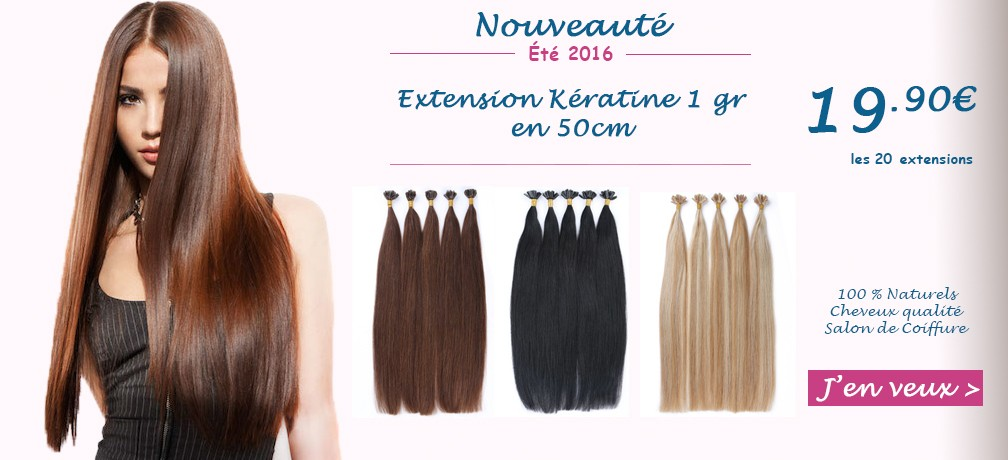 Extension cheveux keratine valence